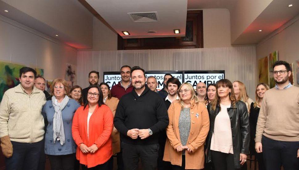 Juntos por el Cambio presentó sus candidatos en Chacabuco