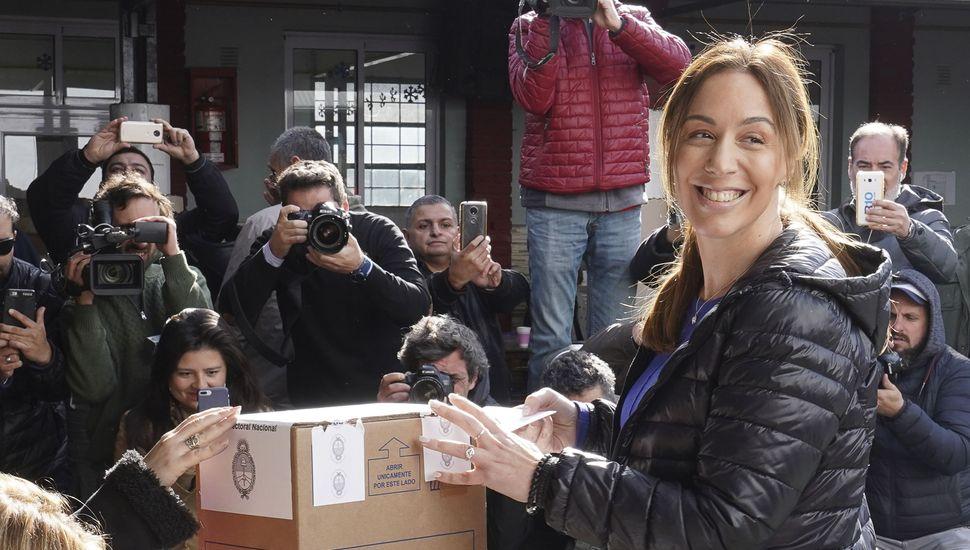 """Vidal aseguró que vive la elección """"con mucha tranquilidad"""""""