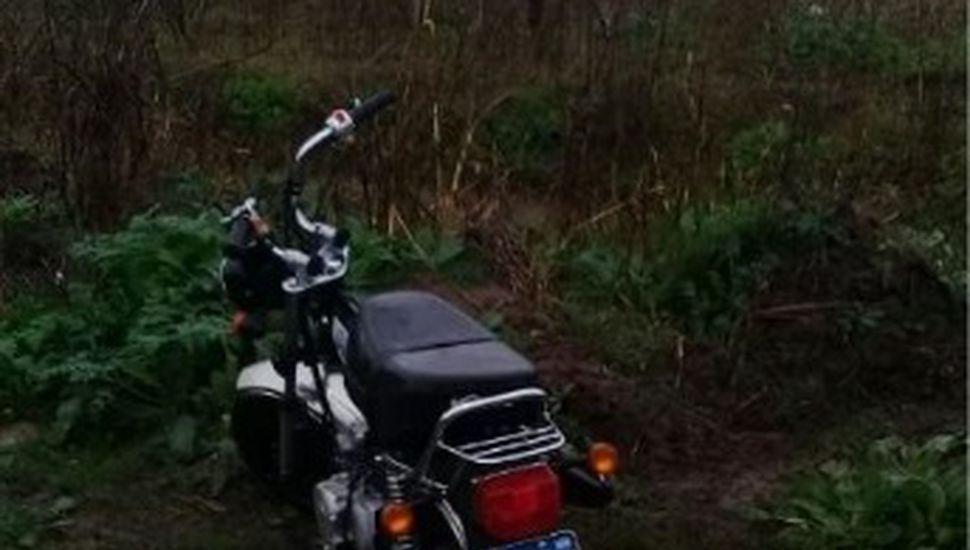 Recuperaron una moto que había sido robada en Rojas