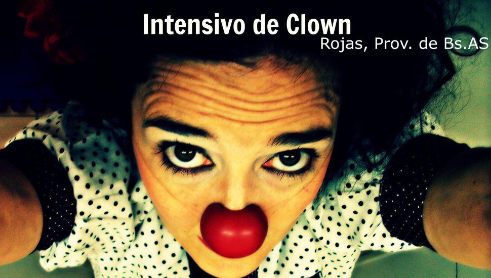 Espectáculo y seminario de clown en Rojas