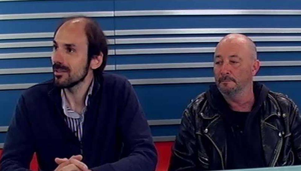 Los candidatos de la CTA de los Trabajadores, ayer, en TeleJunín.