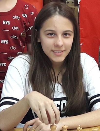 Sofía Milagros Bontempi juega en la divisional Sub-12.