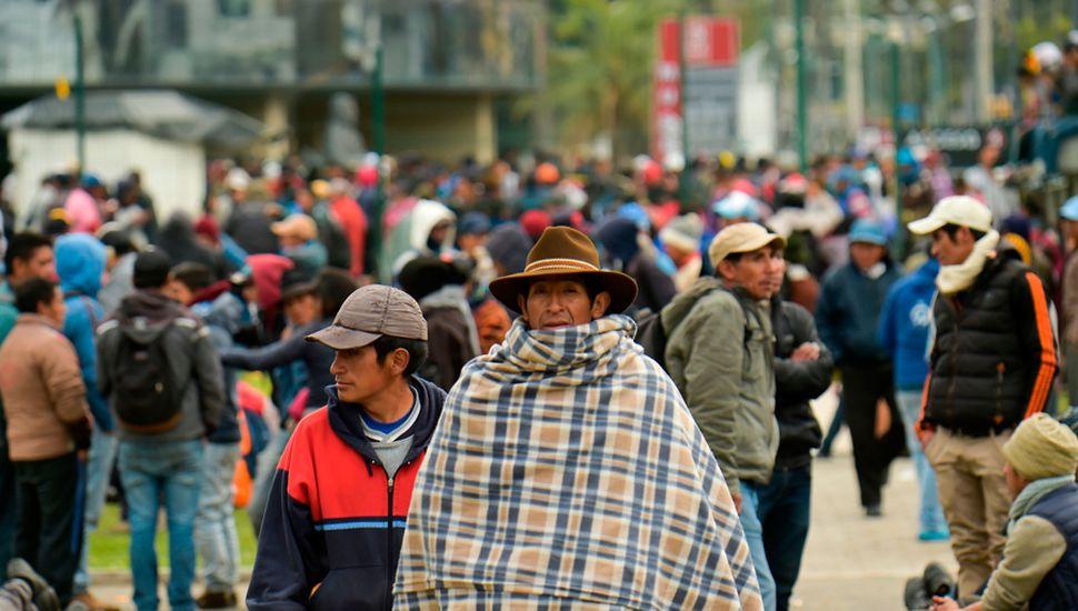 Las protestas, con cortes de rutas y huelgas, comenzaron el pasado 3 de octubre.