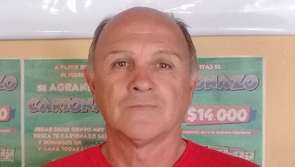 """Juan Carlos """"Cepillo"""" Bertolotti será agasajado."""