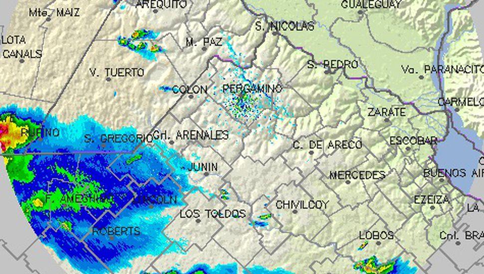 Alerta por tormentas fuertes en Lincoln y la región