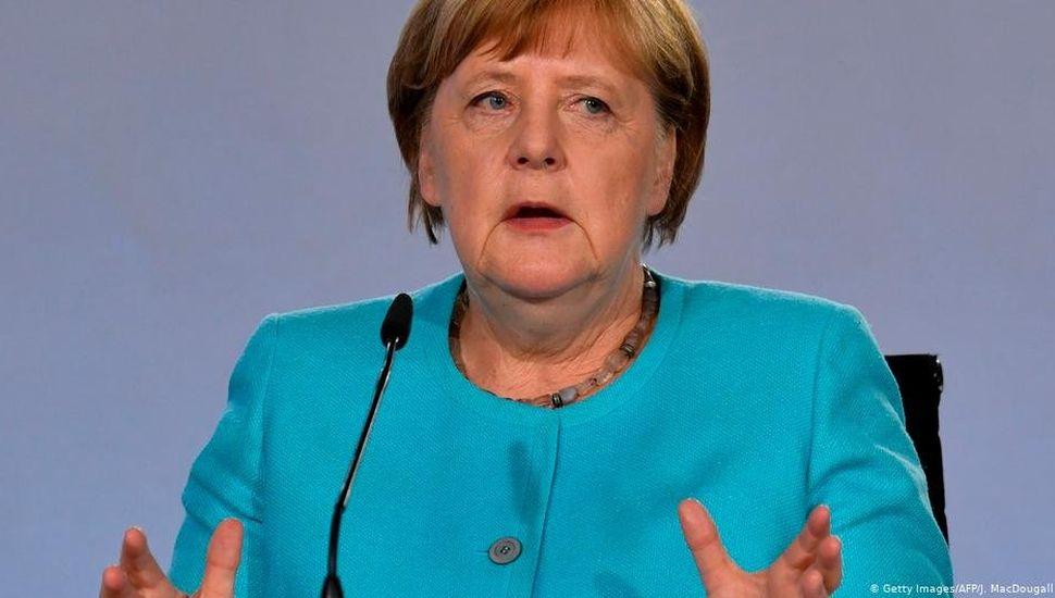 Angela Merkel ratificó que no irá por su reelección