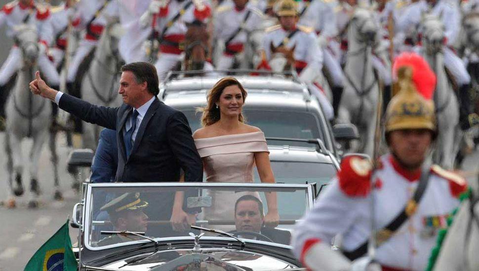 Bolsonaro asumió con un mensaje anticorrupción