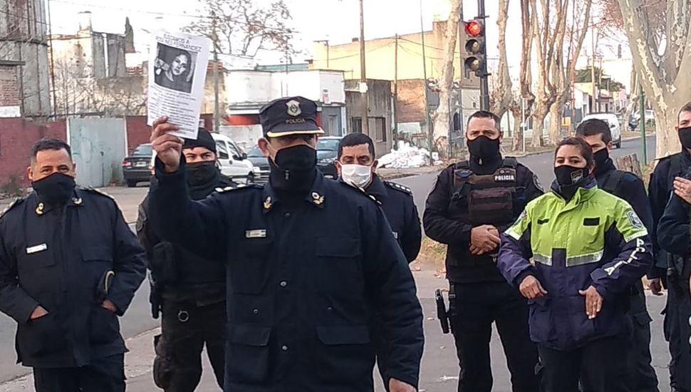 Efectivos policiales realizaron una ardua tarea durante el fin de semana.