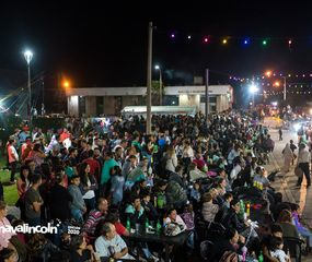 Los vecinos de Roberts y la región participaron del carnaval.