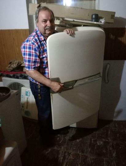 Como técnico en refrigeración, Juan Domingo Perón asegura que las heladeras de antes eran más fuertes y duraban más.