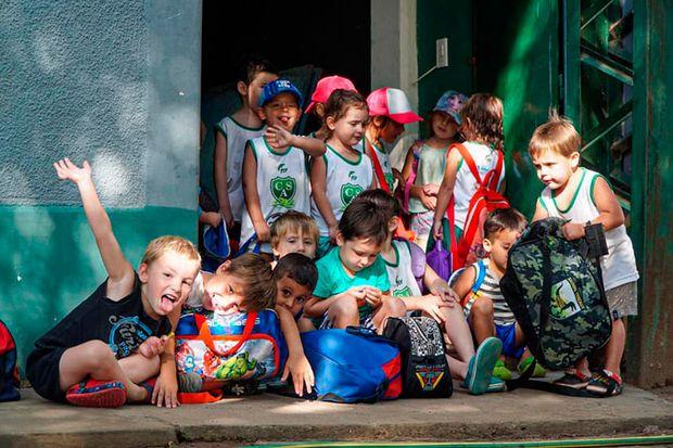 Alegría, entretenimiento y mucha diversión en la Colonia del Club Sarmiento