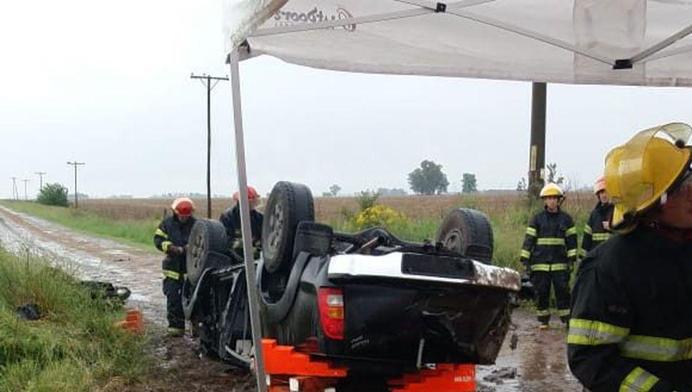 Tres accidentes sobre la Ruta 191 en una misma mañana