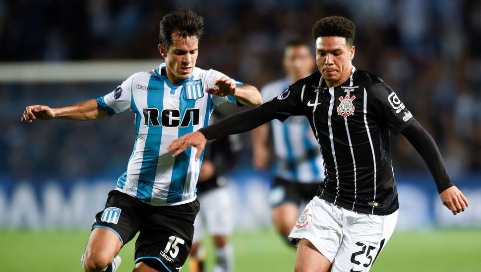 Copa Sudamericana: Racing empató 0-0 ante Corinthians y clasificó a cuartos de final