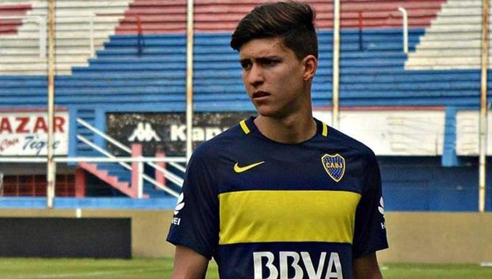"""Boca podría perder a Balerdi, una de las promesas de la cantera""""xeneize"""""""