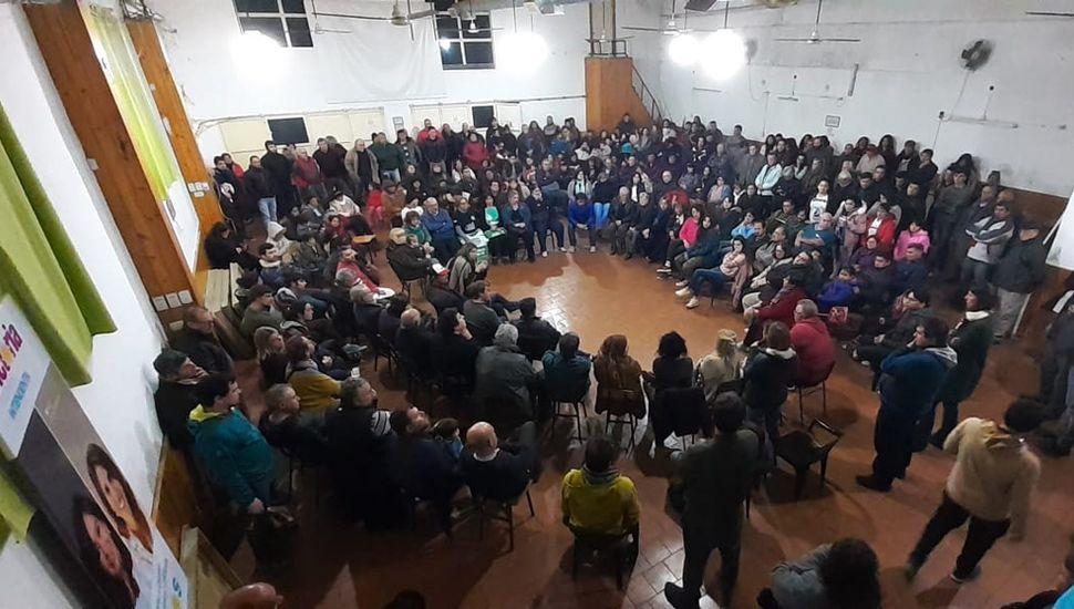 Unidad Ciudadana celebró un plenario de la militancia