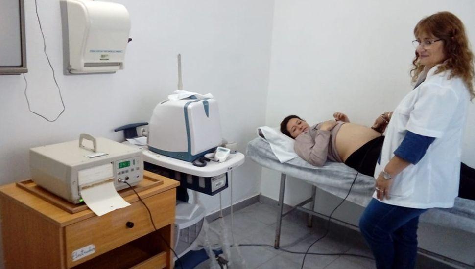Sala sanitaria que cuenta con Monitor Fetal.