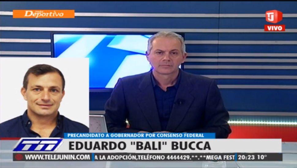 "Eduardo ""Bali"" Bucca dialogó con TeleJunín."