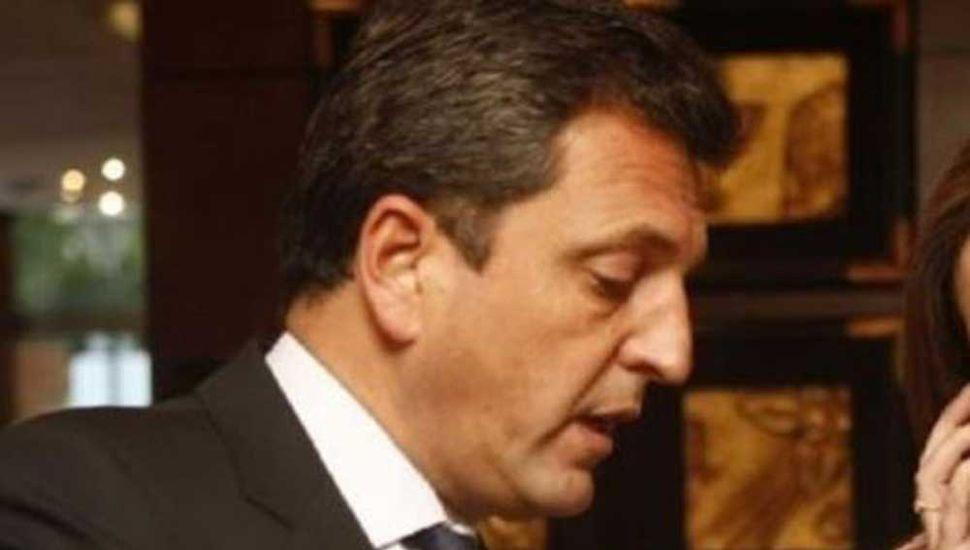 Massa desmintió a Vidal