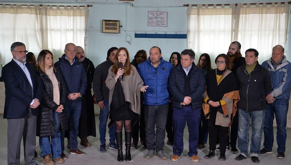 """""""Desde el primer día pusimos como eje de gobierno la integración social"""", afirmó la Gobernadora."""