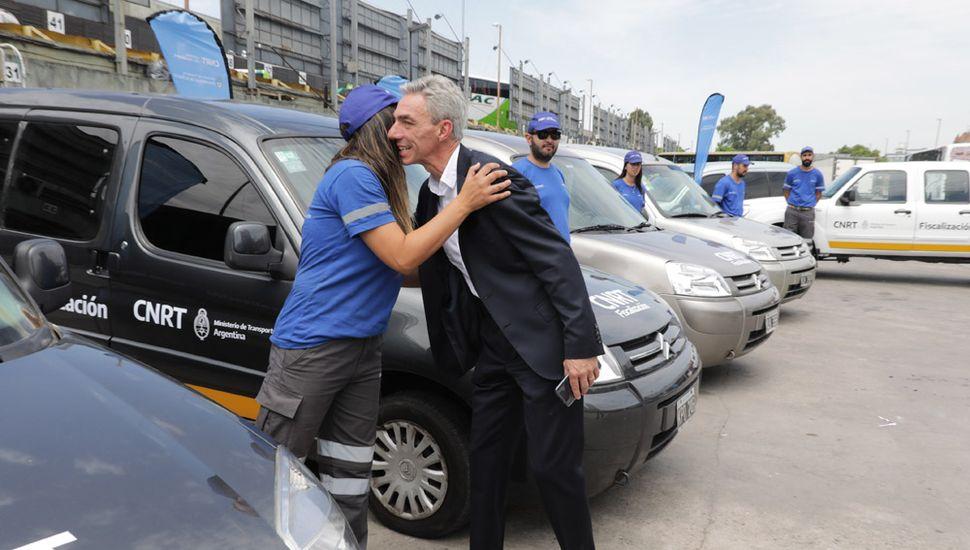 El ministro de Transporte de la Nación, Mario Meoni.