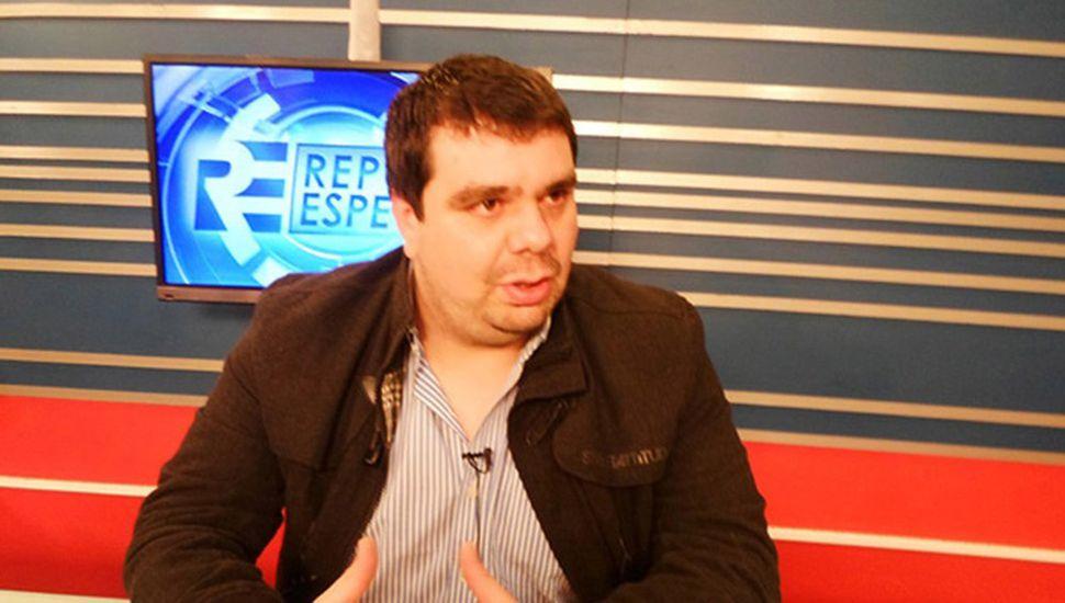 Federico Melo, secretario del Sindicato de Empleados de Comercios.