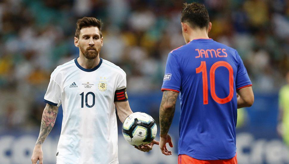 Lionel Messi, el capitán argentino va en busca de una victoria.