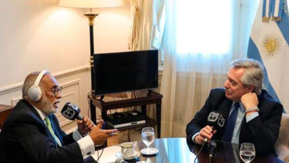 Fernández puso en duda su encuentro con Bolsonaro