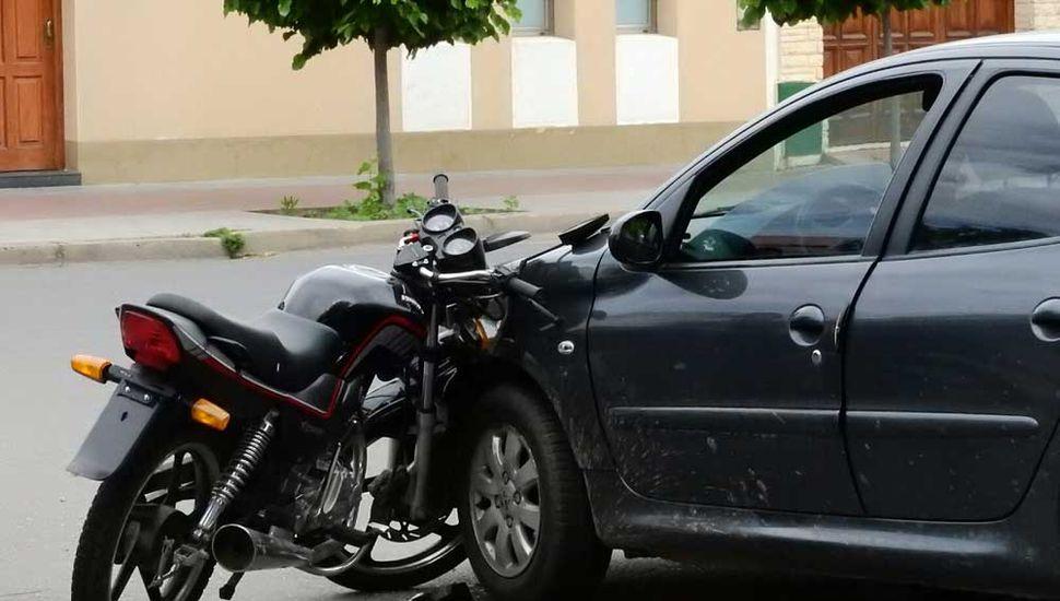 Vehículos involucrados en el accidente.