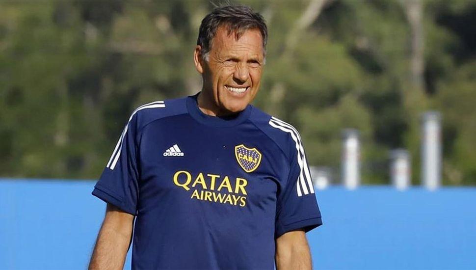 Miguel Russo, el DT de Boca ya palpita el regreso del fútbol.