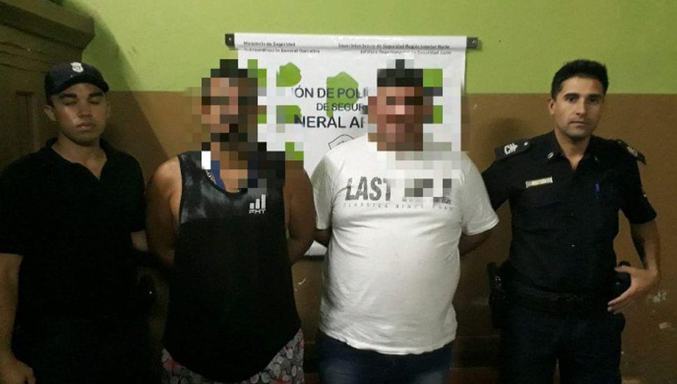 Tres hombres detenidos en Arenales