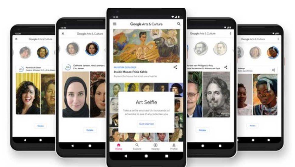 Art Selfie, la app de Google  para encontrar a tu doble en las pinturas de los grandes museos