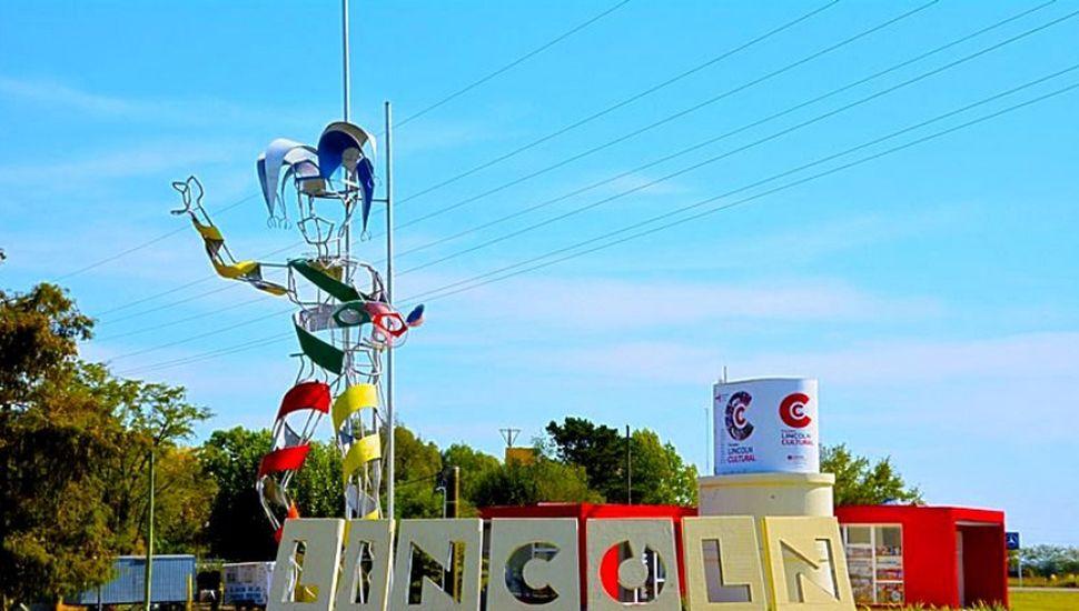 Acceso a la ciudad de Lincoln.