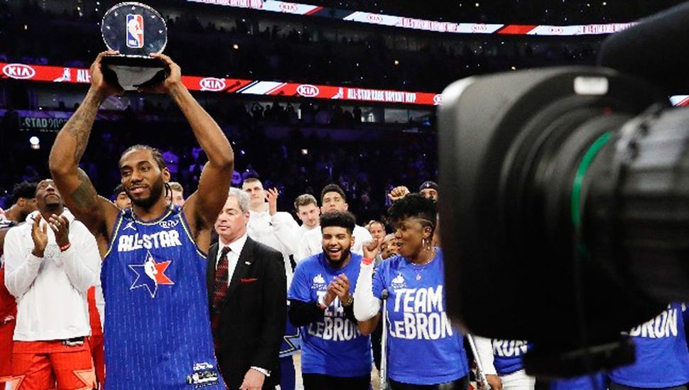 Kawhi Leonard, jugador de Los Angeles Clippers,  fue elegido MVP del All Star Game 2020.