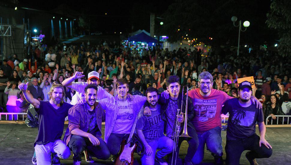 Una banda juninense integrará la grilla oficial del Cosquín Rock 2019