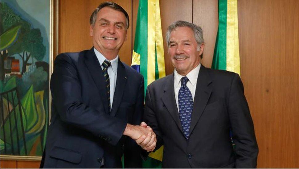 Bolsonaro pidió reunirse con Fernández en marzo