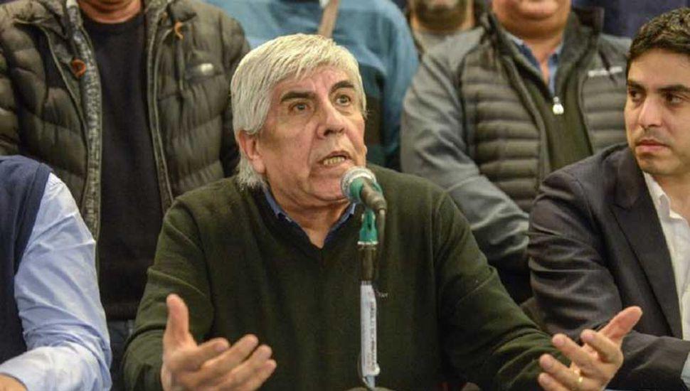 """Moyano dijo que Macri está """"incómodo"""" en el cargo"""