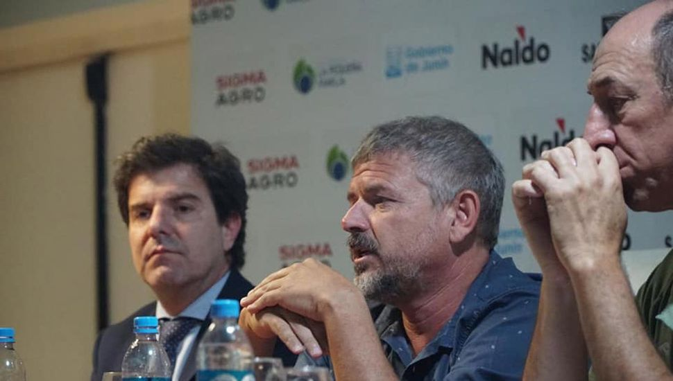 Fernando Chiófalo, presidente del Club Sarmiento.