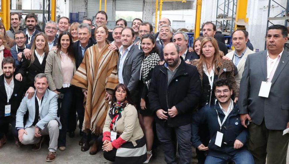 """Macri se mostró con Vidal en la inauguración de obras: """"Estamos haciendo lo que había que hacer"""""""