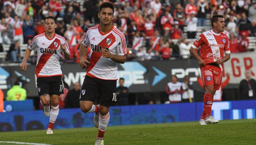 River resignó puntos frente a Argentinos