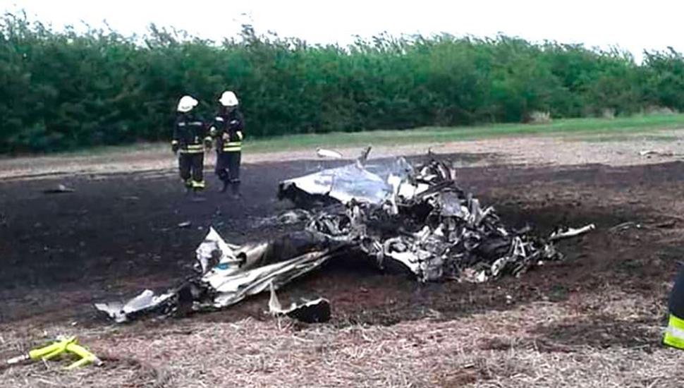 Cayó una avioneta que se dirigía a Vaca Muerta