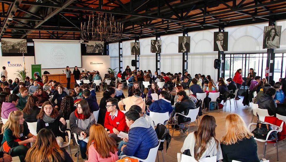 Los ejes convocantes fueron Inclusión Educativa, Género, Jóvenes y Trabajo, Participación Ciudadana e Integración Regional.