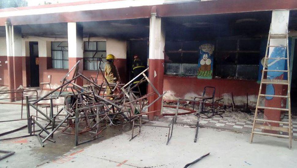 La provincia presenta un proyecto de Ley para sancionar el vandalismo en las escuelas