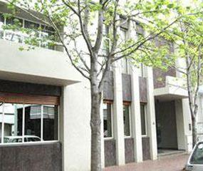 Sede del Colegio de Escribanos en Junín, ubicada en General Paz 28.