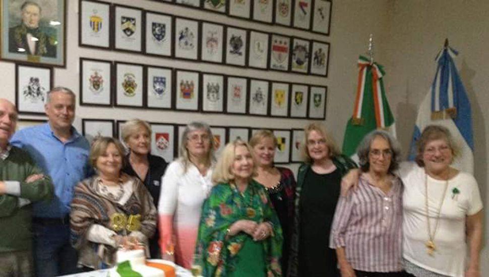 La Sociedad de la Raza Irlandesa festejó sus 95 años