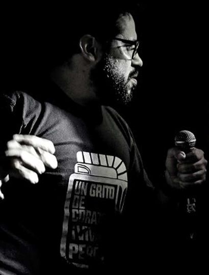 Emanuel Rodríguez y su show de stand up.