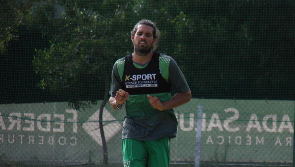 El goleador Pablo Magnín.