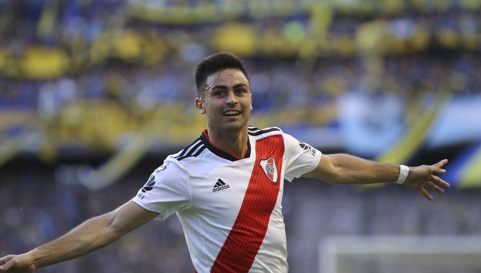 "Con goles del ""Pity"" Martínez y Nacho Scocco, River venció  2 a 0 a Boca en la Bombonera"