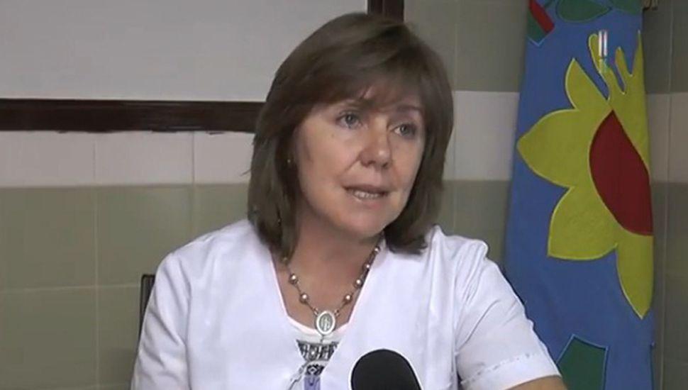 Nancy Francione, nutricionista del Hospital Nuestra Señora del Carmen.