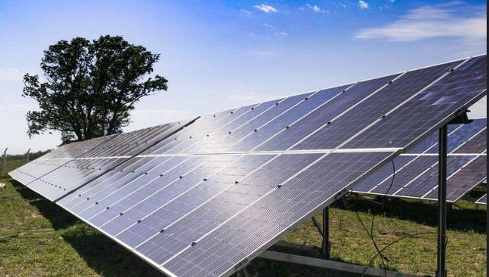 Está próximo a culminar la construcción de un nuevo parque solar
