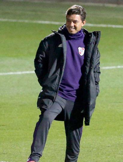 Marcelo Gallardo, DT de River.